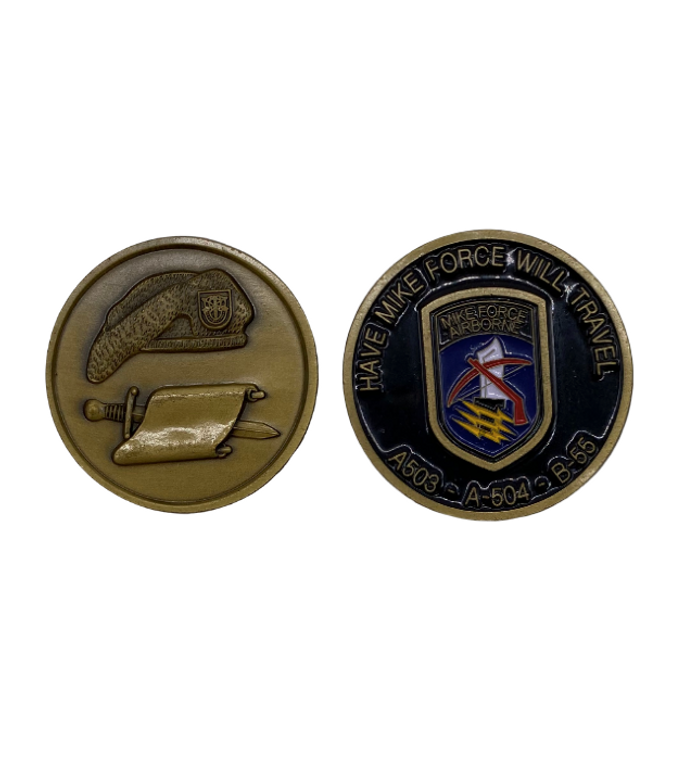 Mike Force W Dragon Coin