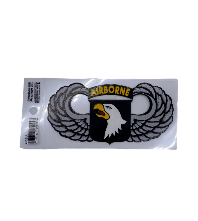 101st ABN Wings Decal
