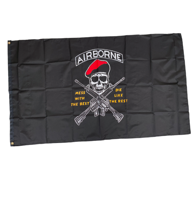 ABN Mess With the Best Flag
