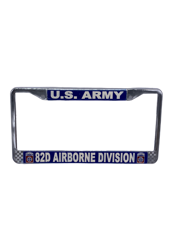 82nd ABN Licence Plate