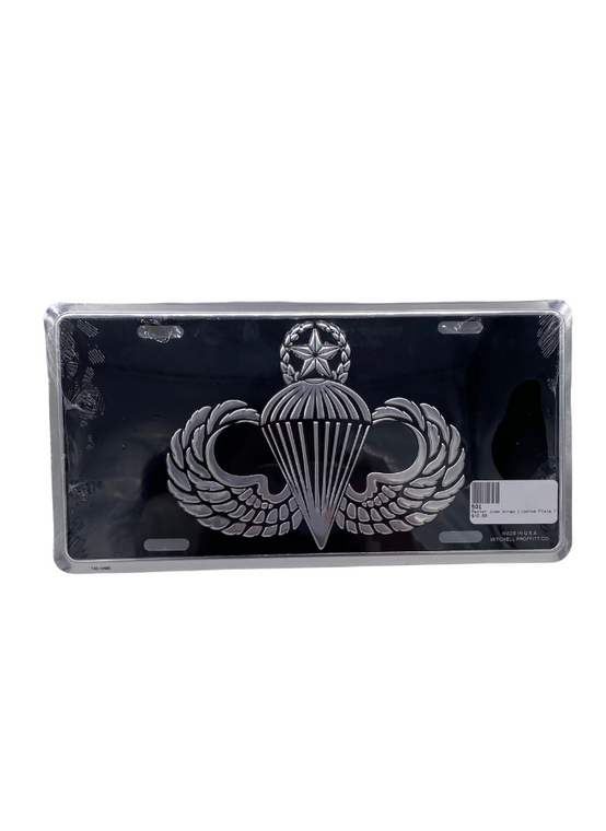 Master Jump Wings Licence Plate Fr