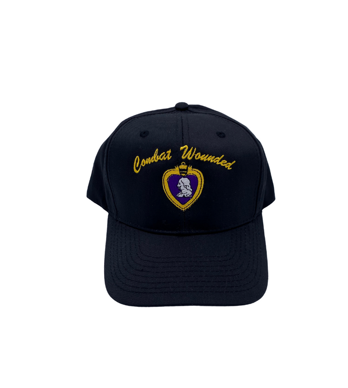 Purple Heart Hat Combat Wounded