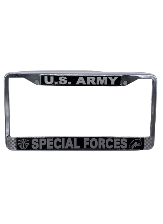 Special Forces License Plate Frame