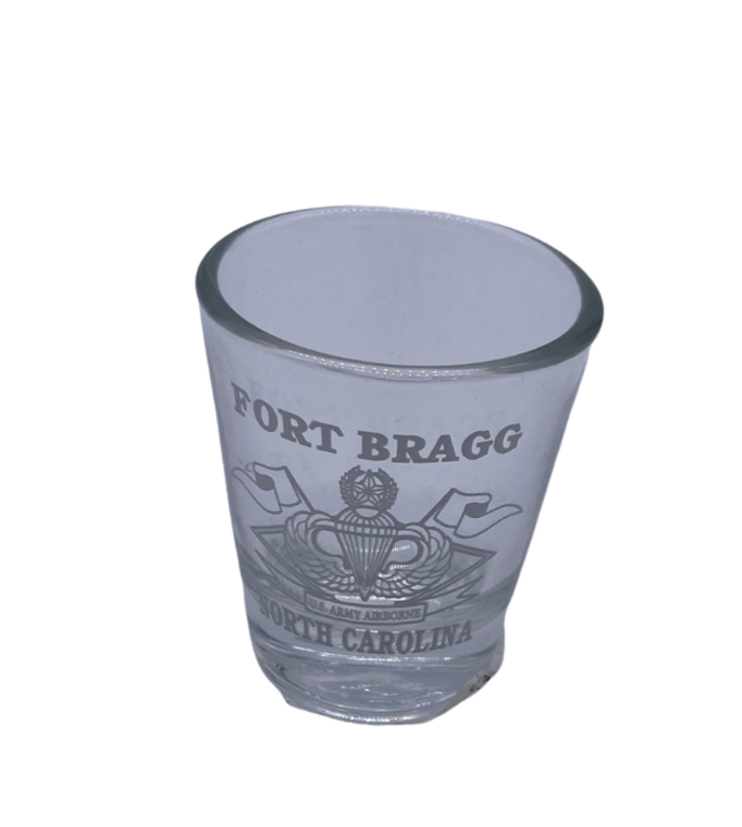 Ft Bragg Shot Glass
