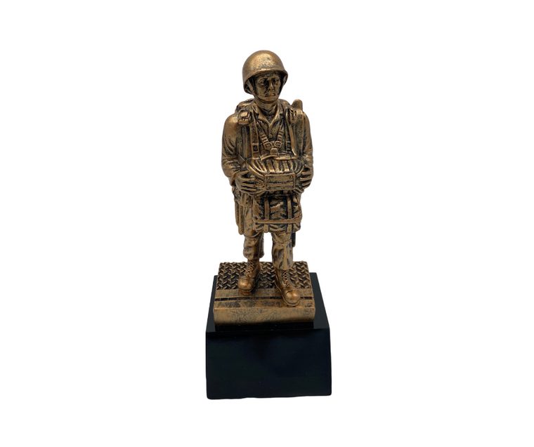 WWII Paratrooper Statue