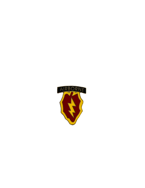 25th Infantry Division Airborne Pin