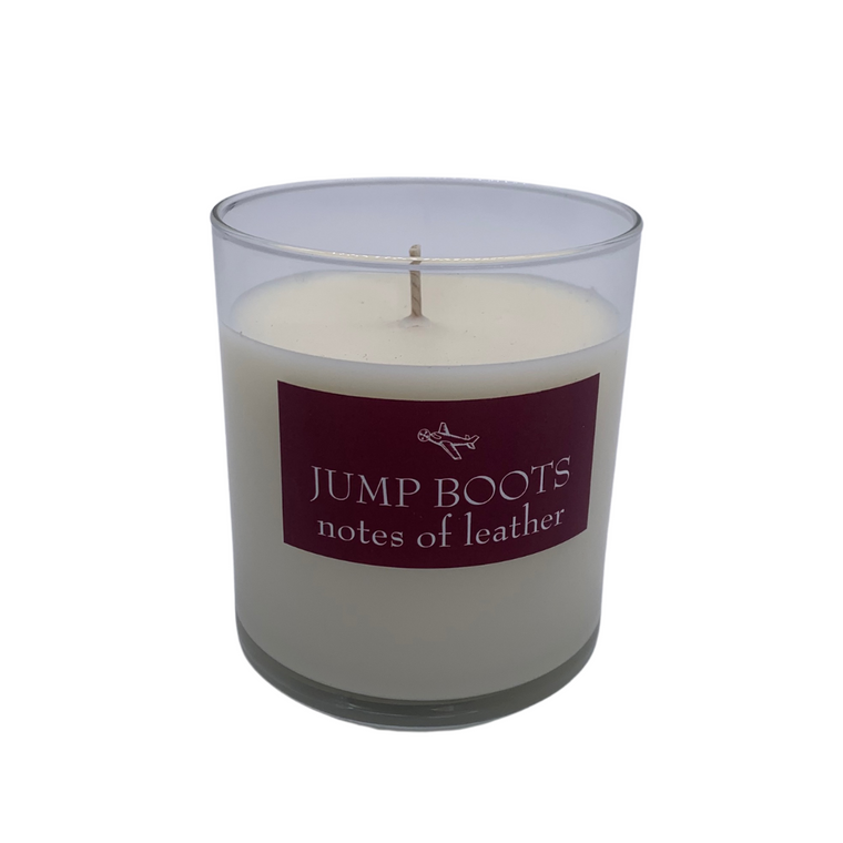 Jump Boots Candle