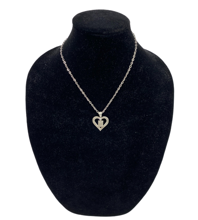 Army Heart Necklace