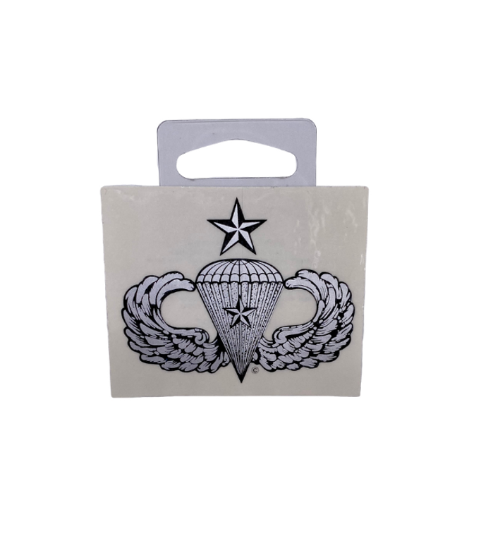 Senior Combat 1 Star Sticker