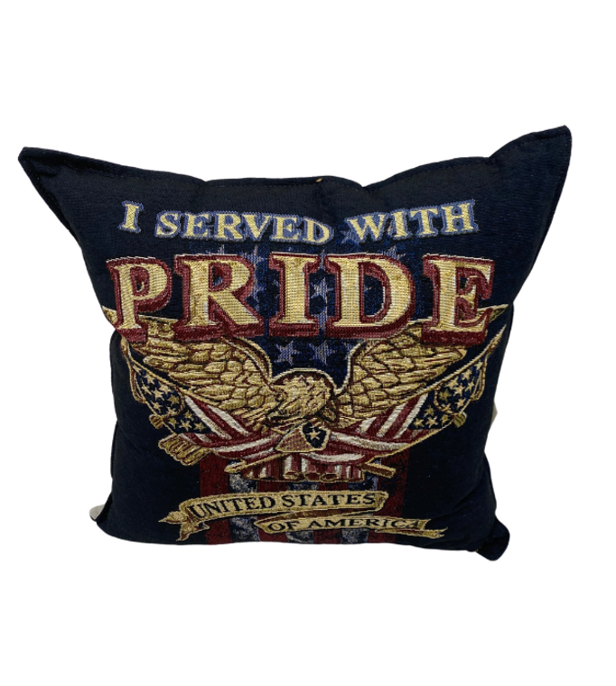 I Served With Pride Pillow