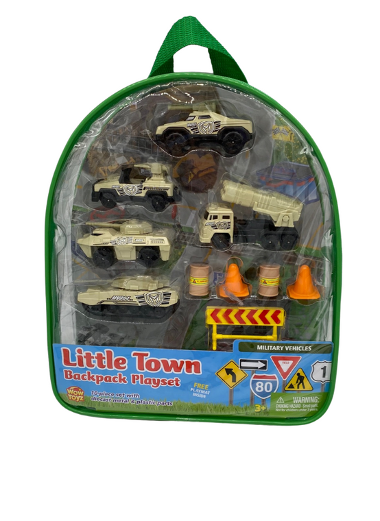 Military Vehicles Backpack