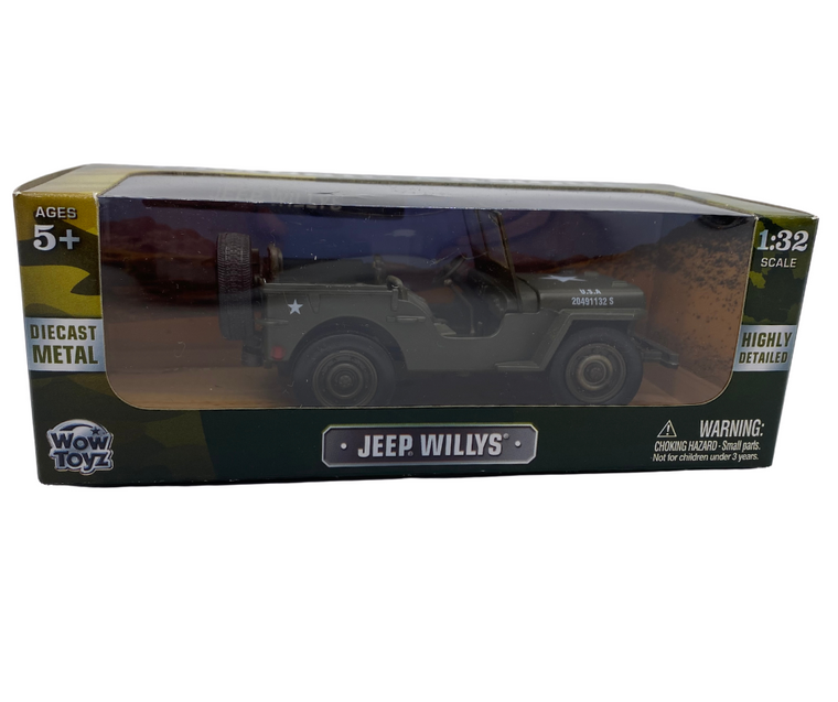 Classic Willys Jeep 1:32