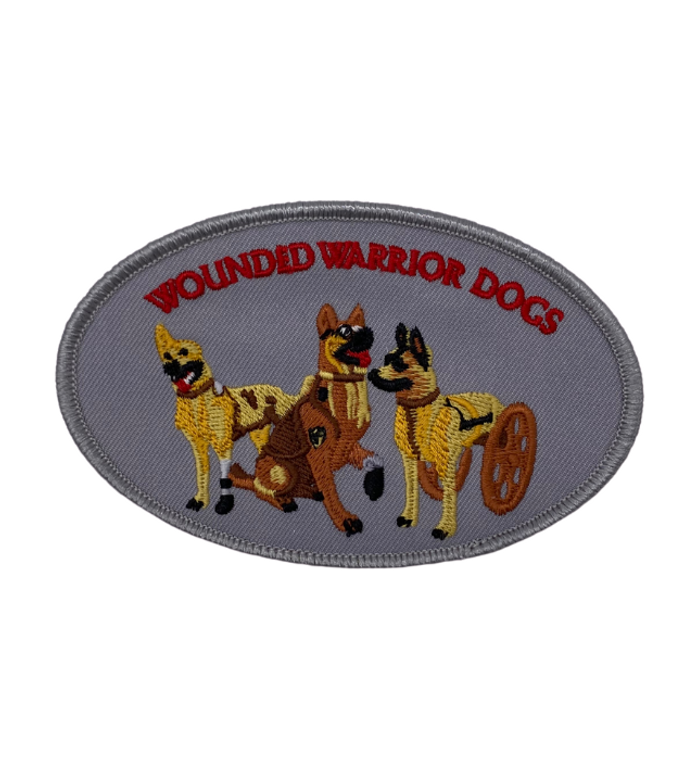 Wounded Warrior Dog Patch