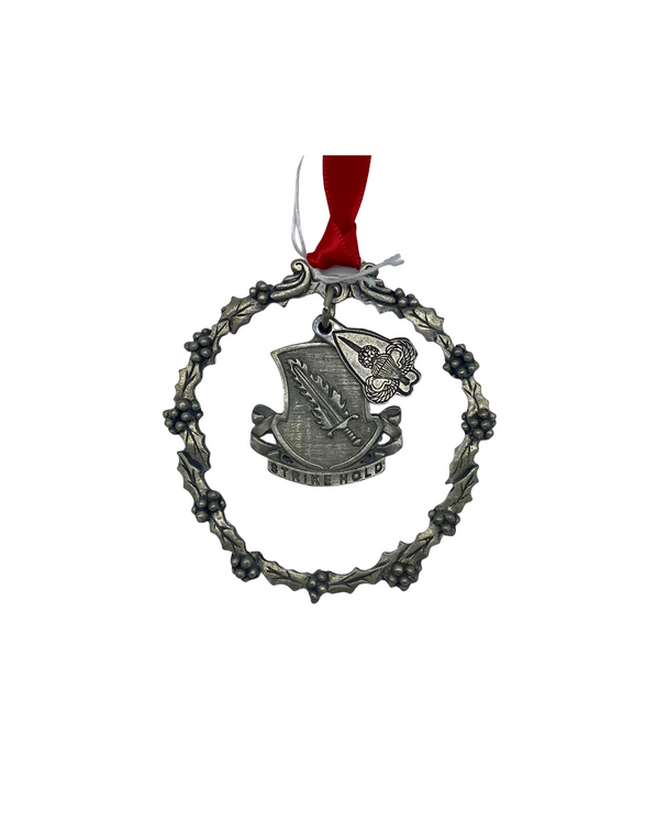 504th Pewter Ornament