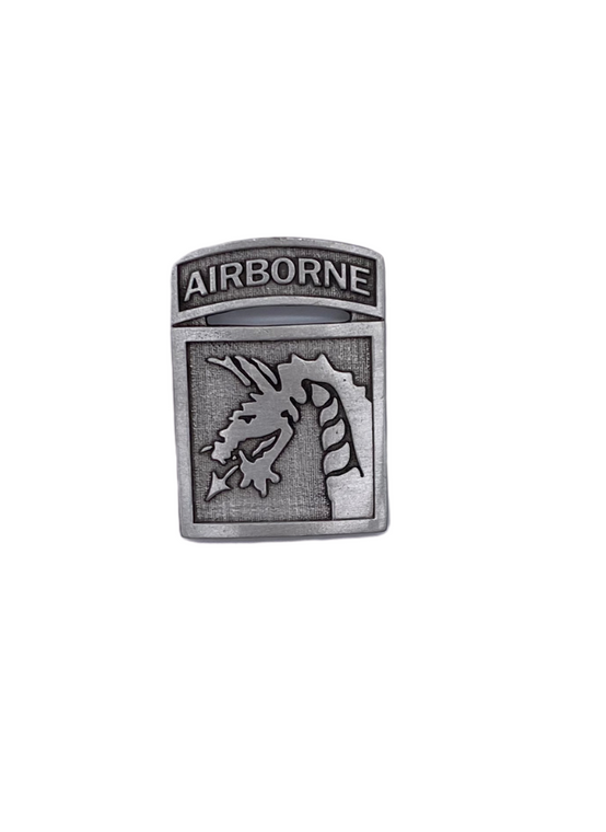 18th ABN Corp Pewter Magnet