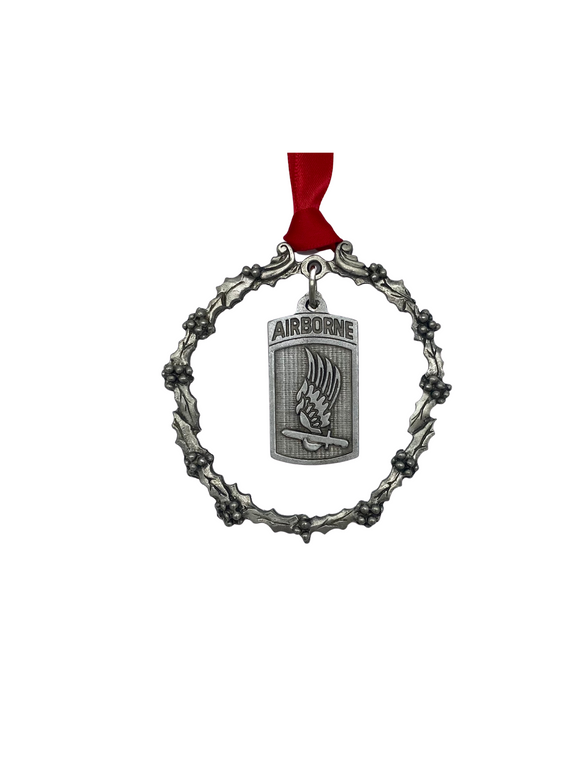 173rd Pewter Ornament