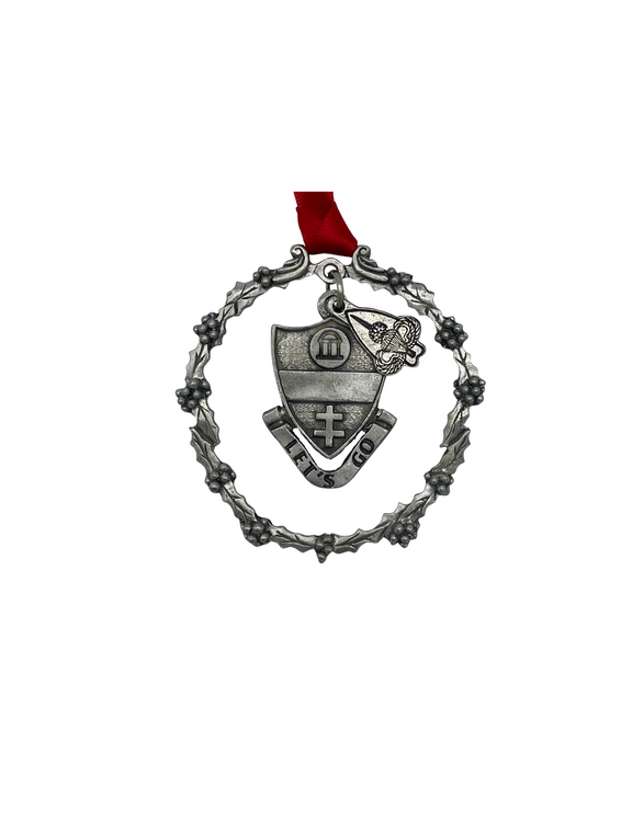 325th Pewter Ornament