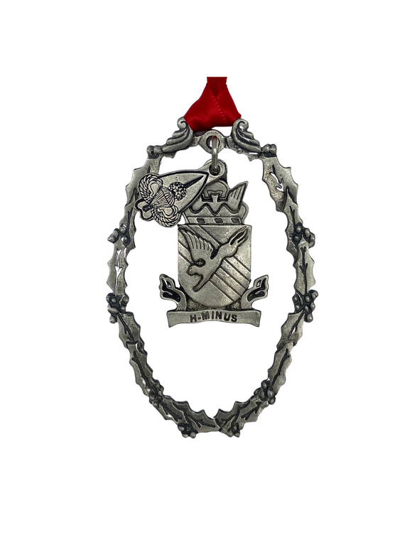 505th Pewter Ornament