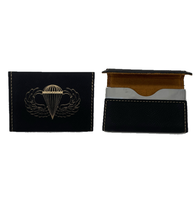 Paratrooper Business Card Holder