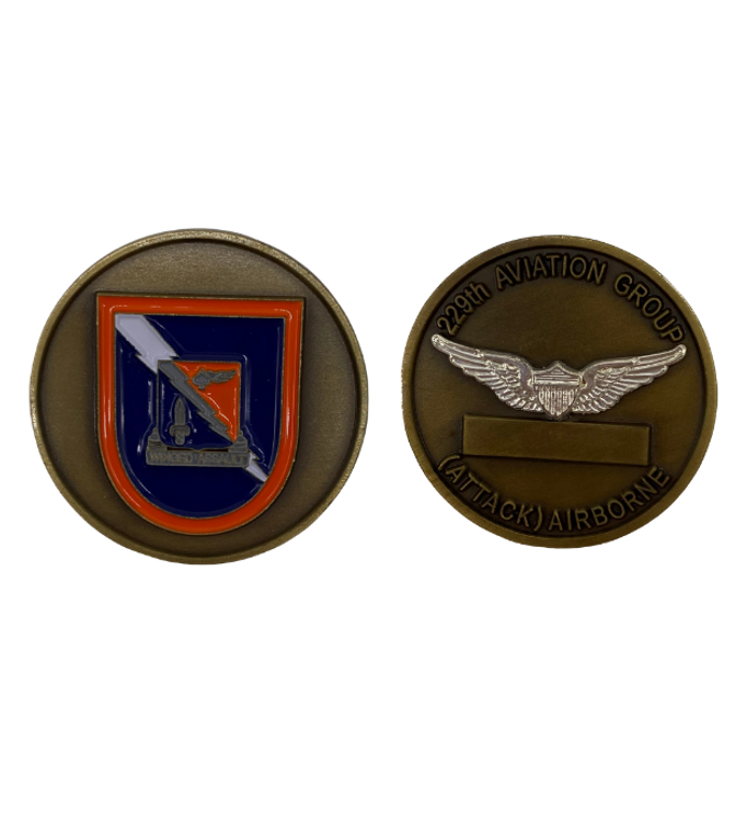 229th Aviation Group Coin
