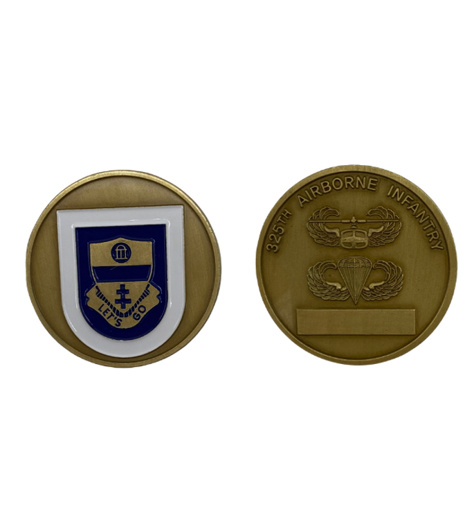 325th ABN Infantry Coin