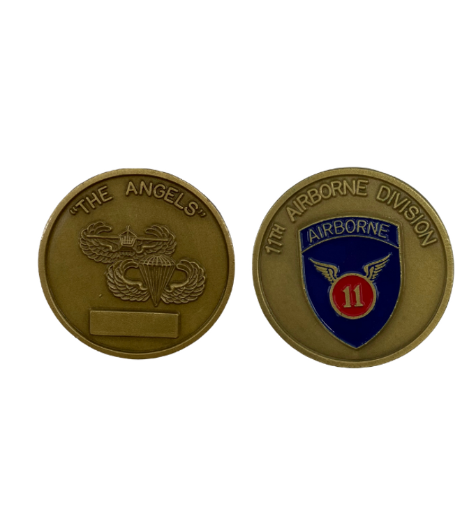 11th Airborne Division Coin