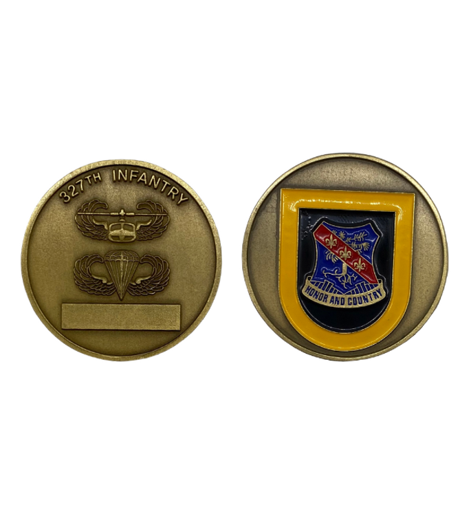 327th Infantry Coin