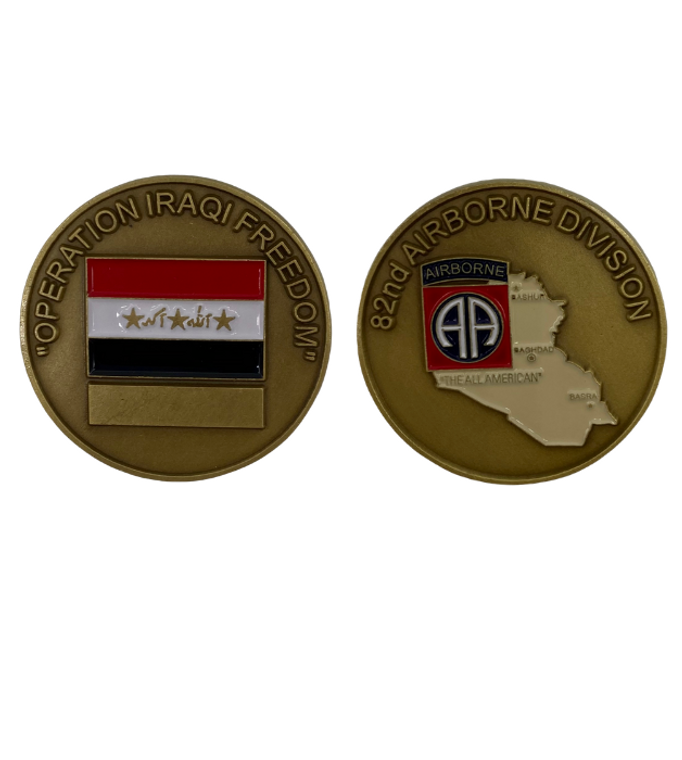 82ND DIV Iraqi Freedom Coin