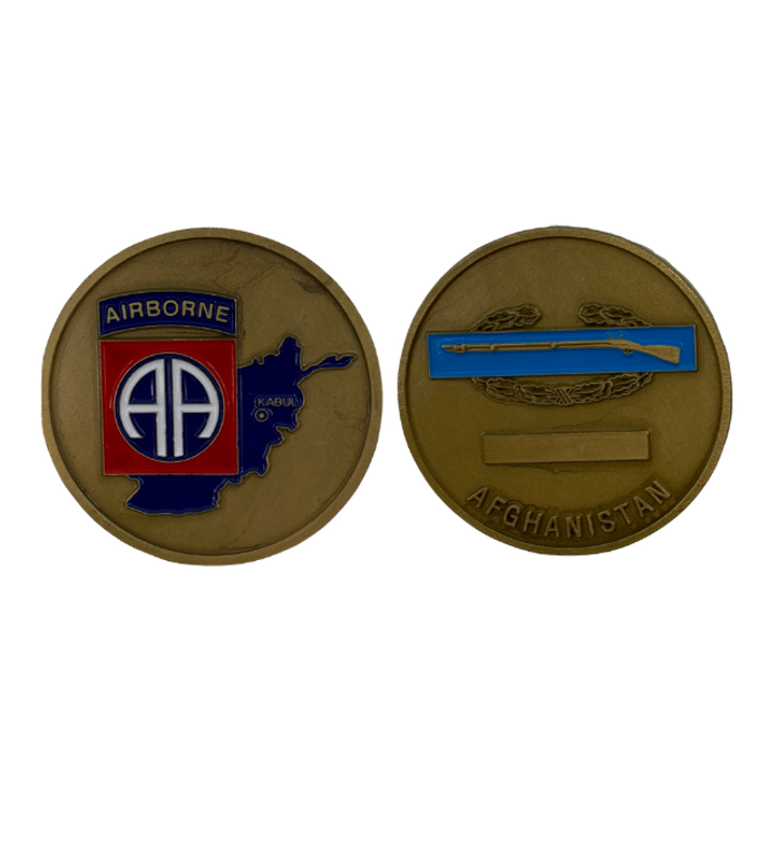 82ND ABN DIV Afghanistan Coin