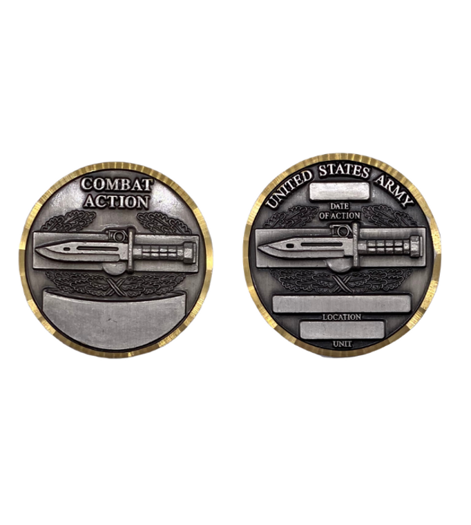 Combat Action Badge Coin