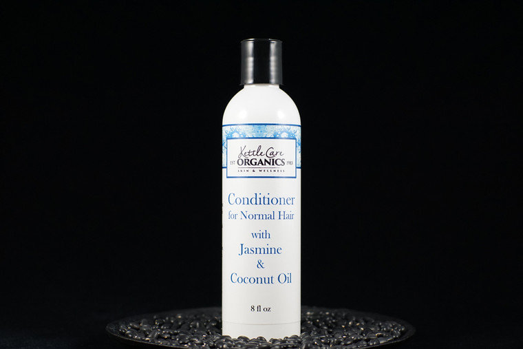 Conditioner for Normal Hair with Hydrating Natural Aloe Vera & Coconut Oil, 8 fl oz