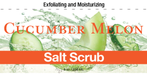 Cucumber Melon Salt Scrub