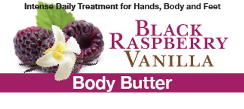Black Raspberry Vanilla Body Butter, 8 oz.