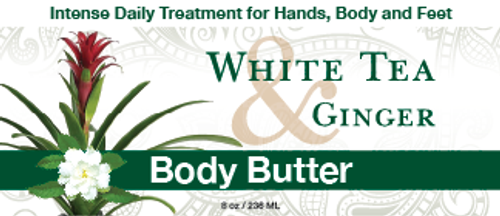 White Tea & Ginger Body Butter
