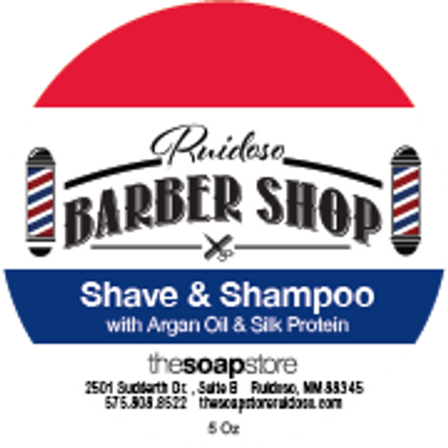Barbershop Shave & Shampoo Soap, 5 oz.