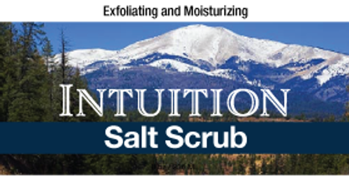 Intuition Salt Scrub, 8 oz.