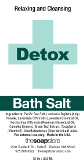 Detox Soak Bath Salts, 12 oz. Tube