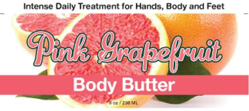 Pink Grapefruit Body Butter, 8 oz.