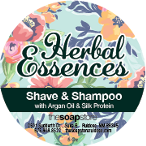 Herbal Essence Shave & Shampoo Soap, 5 oz.
