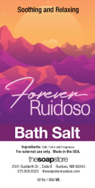 Forever Ruidoso Bath Salts, 12 oz. Tube