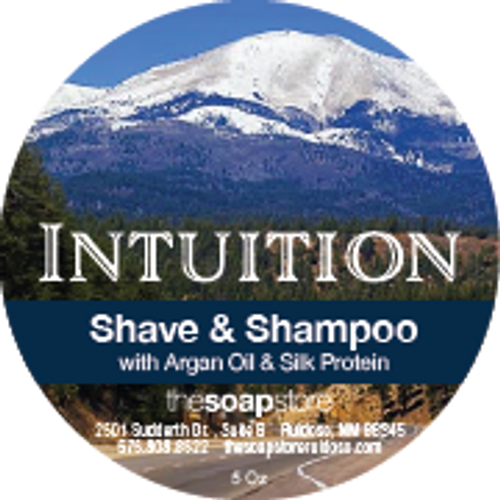 Intuition Shave & Shampoo Soap, 5 oz.
