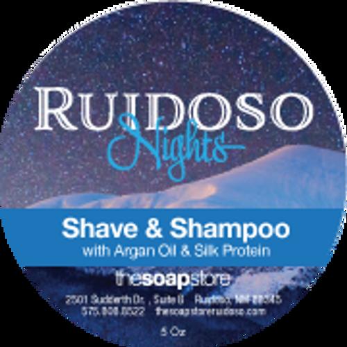Ruidoso Nights Shave & Shampoo Soap, 5 oz.