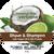 Coconut Lime Verbena Shave & Shampoo Soap, 5 oz.