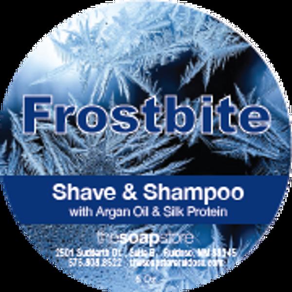 Frostbite Shave & Shampoo Soap, 5 oz.