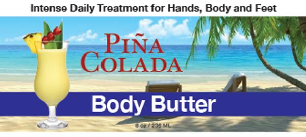 Piña Colada Body Butter, 8 oz.