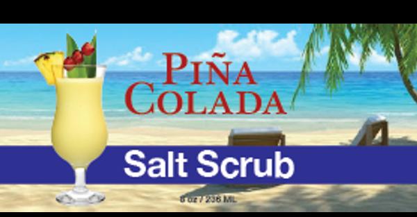Piña Colada Salt Scrub, 8 oz.