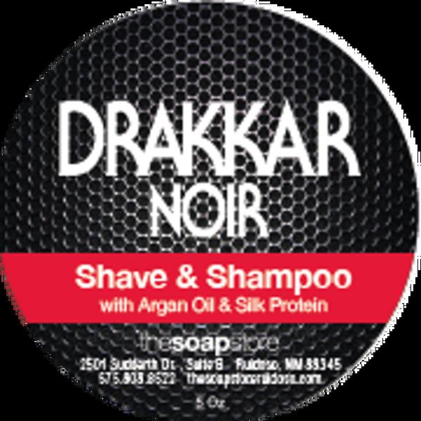 Drakkar Noir Shave & Shampoo Soap, 5 oz.