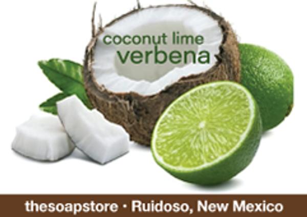 Coconut Lime Verbena – Glycerin Soap