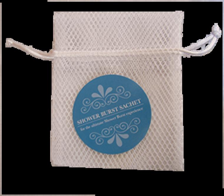 Shower Burst Sachet Bag - White
