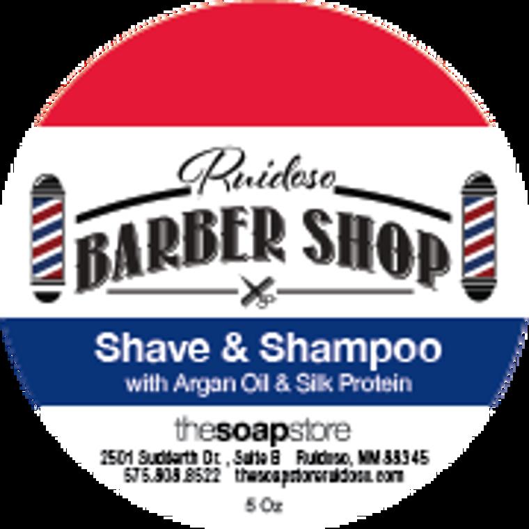 Barber Shop Shave & Shampoo Soap, 5 oz.